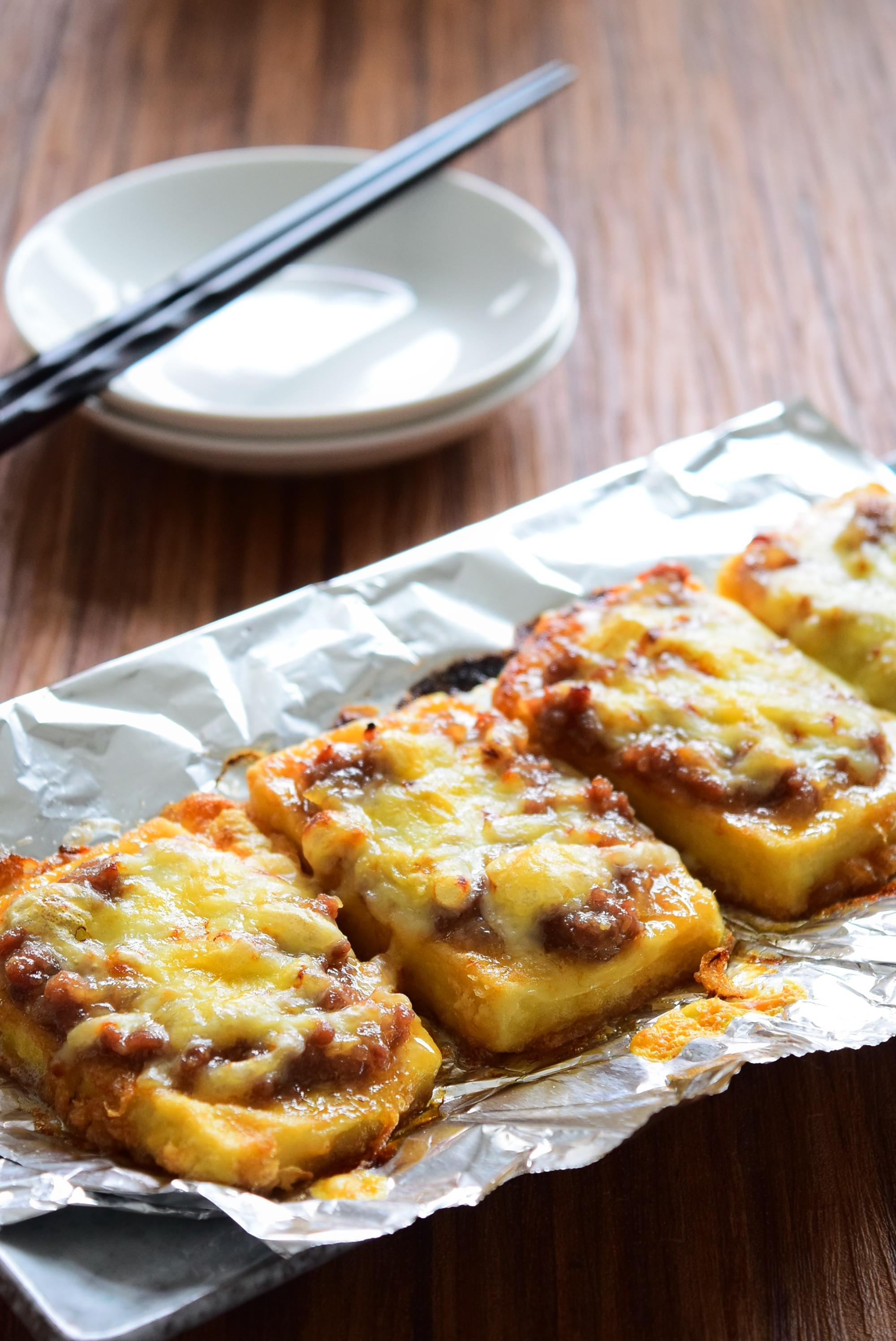 豆腐の肉味噌のせチーズ焼きのレシピ