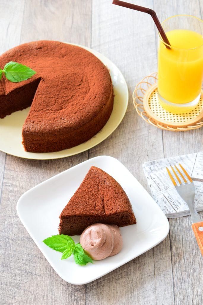 ふわふわ!しっとり!はちみつココアケーキのレシピ