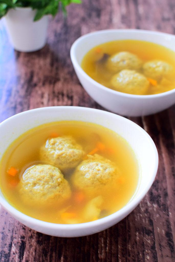肉団子のカレースープのレシピ