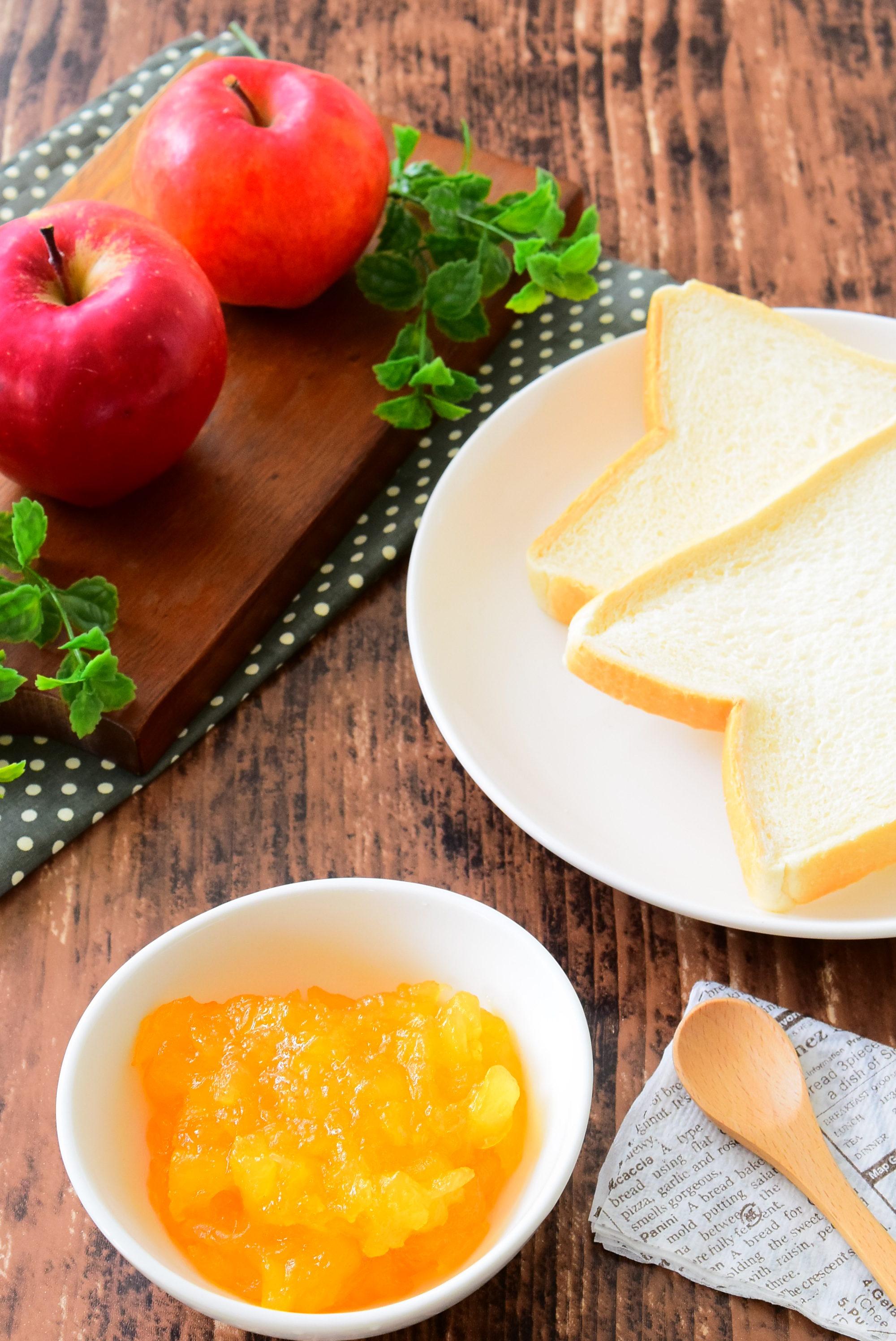 炊飯器で簡単!りんごジャムのレシピ