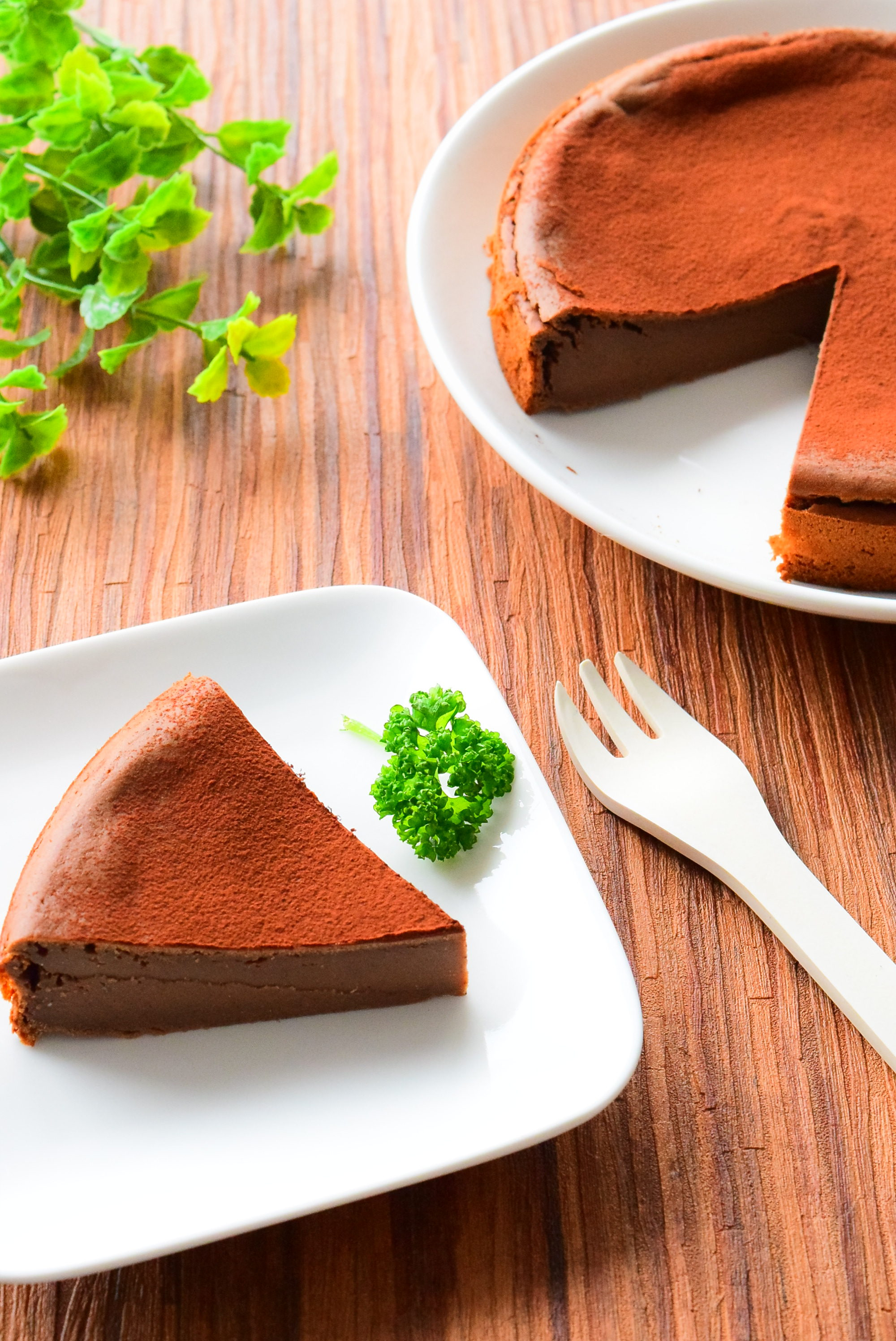 白砂糖を使わない!黒糖のガトーショコラ風さつまいもケーキのレシピ
