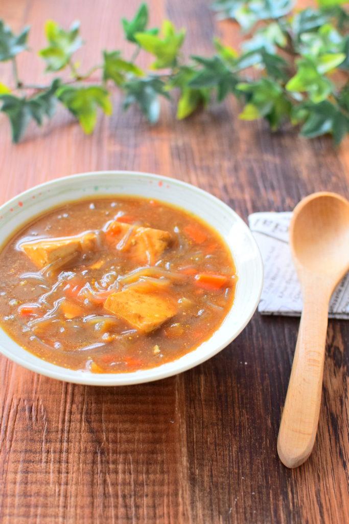 春雨のカレースープのレシピ