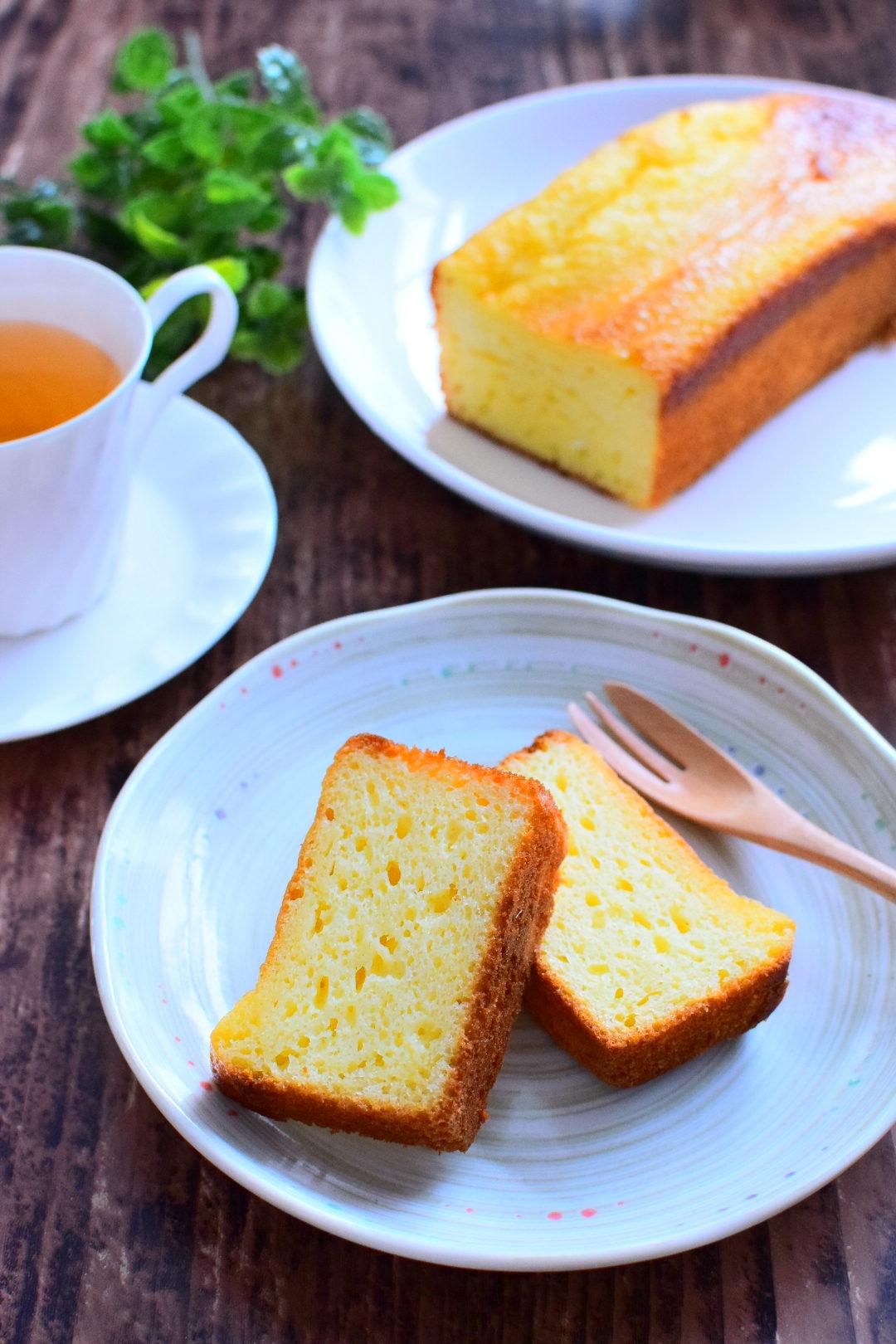 バターを入れない!ヨーグルトレモンパウンドケーキのレシピ