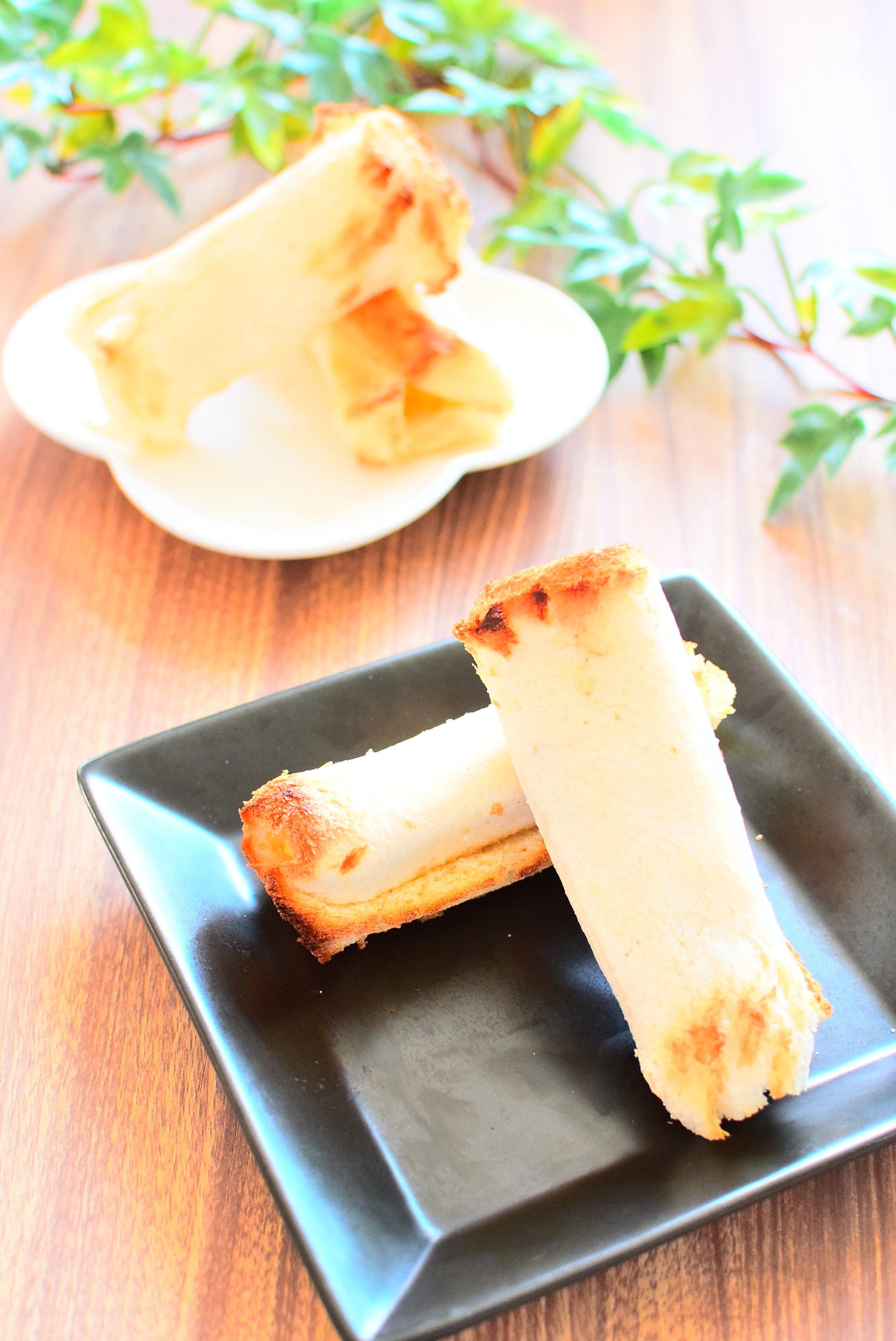 食パンで作る!アップルパイ風のレシピ&パン耳ラスクのレシピ