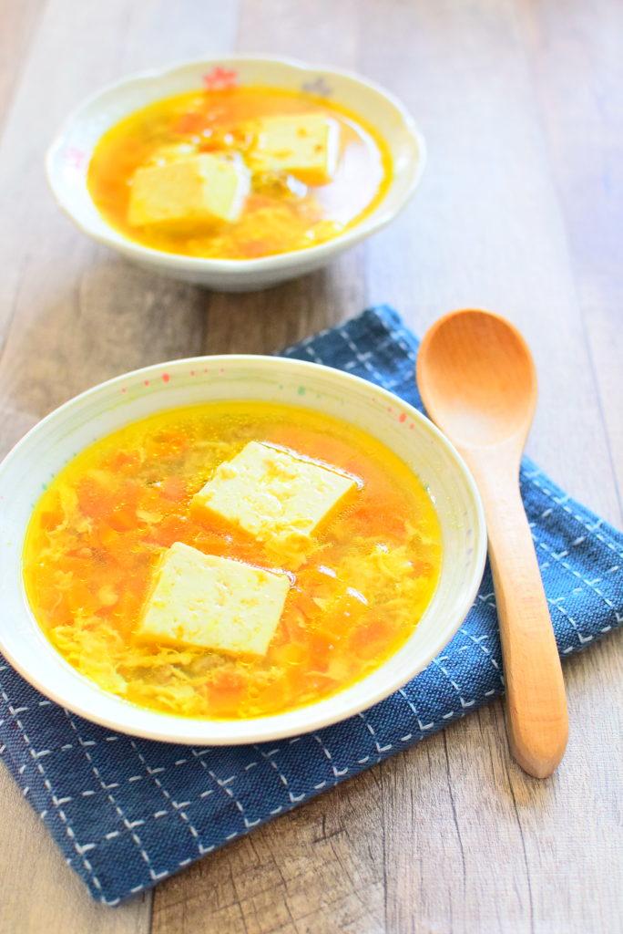 ひき肉のカレーコンソメスープのレシピ