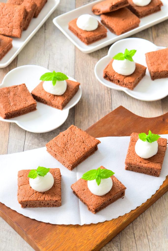 ふわふわココアスポンジケーキのレシピ