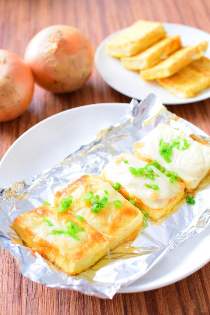 豆腐のねぎ味噌のせチーズ焼きのレシピ