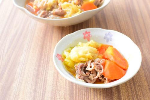 キャベツと豚バラのとろとろ煮のレシピの写真