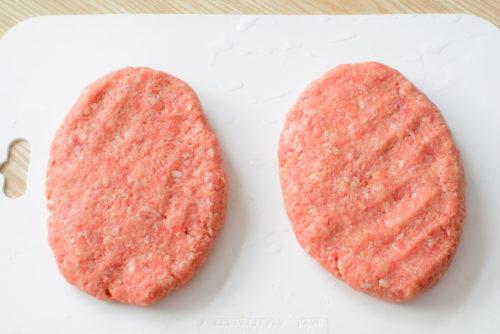 ジューシー!オイスターソースハンバーグのレシピの写真