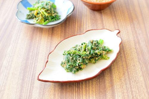 シンプルで簡単!ほうれん草のゴマ和えのレシピの写真