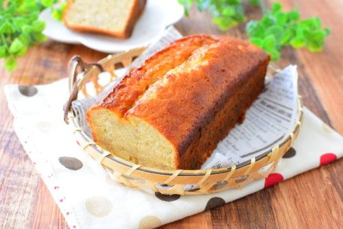 バターを使わない!バナナパウンドケーキのレシピの写真