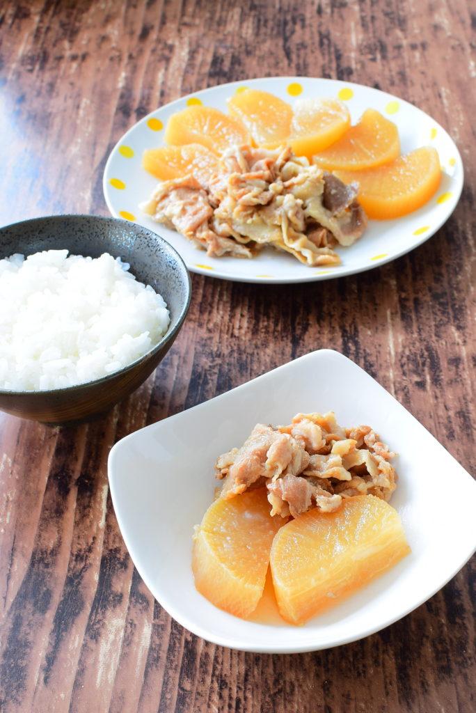 ご飯が進む!簡単おかず!豚バラ大根のレシピ