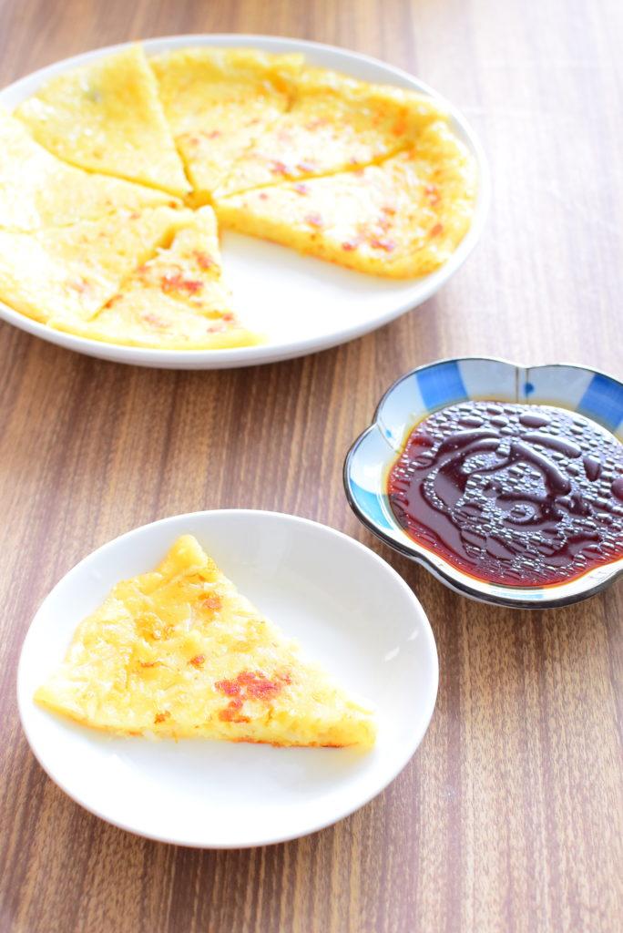 【チーズ入り】しっとりもやしチヂミのレシピ