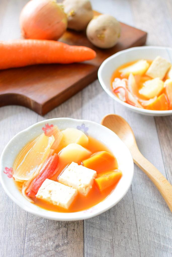 【野菜ごろごろ】食べるコチュジャンスープのレシピ