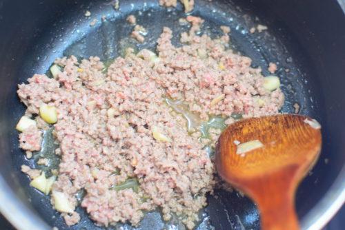 具だくさん!カレーつけ麺のレシピ