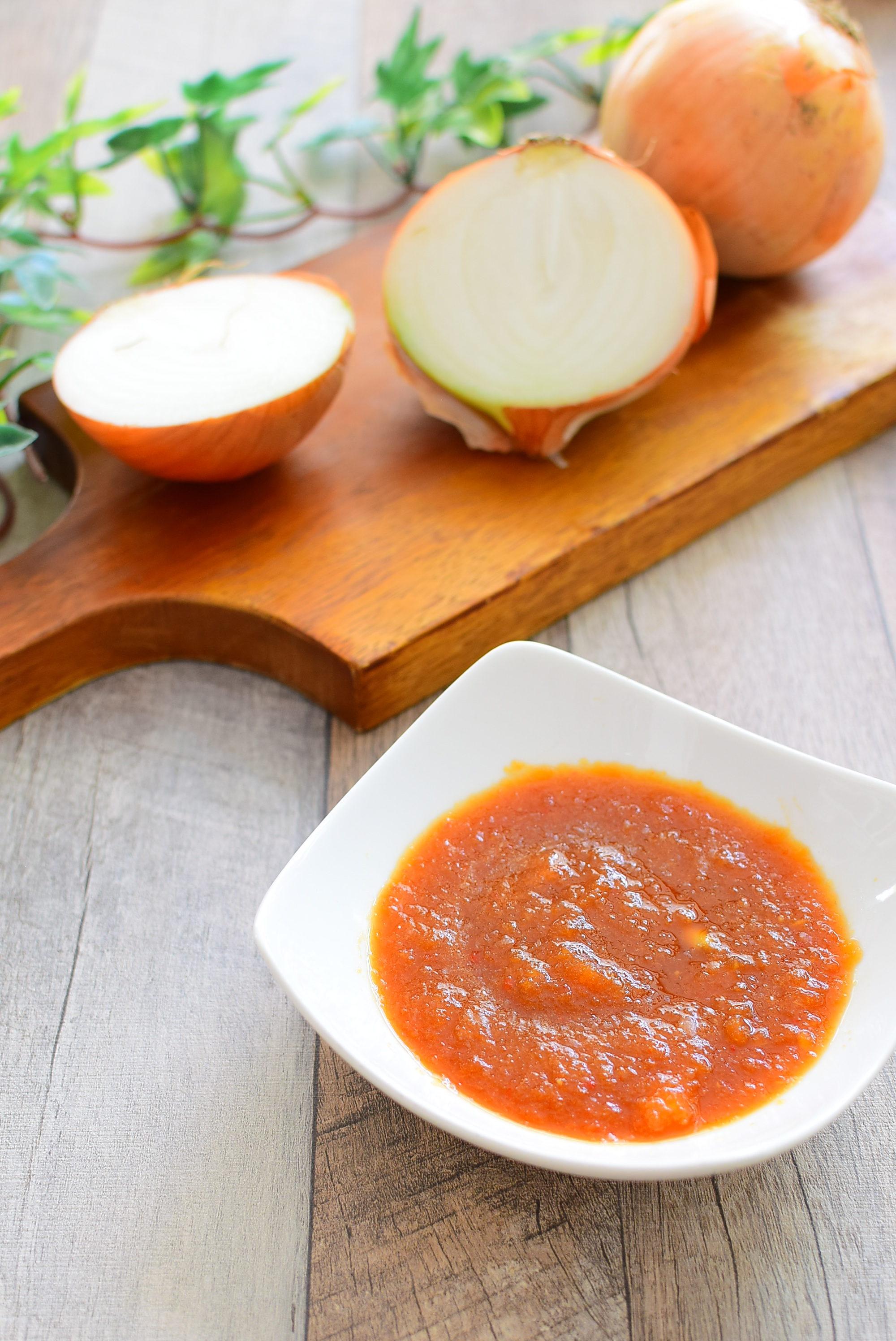 焼肉のタレを手作りしよう!簡単!玉ねぎだれのレシピの写真