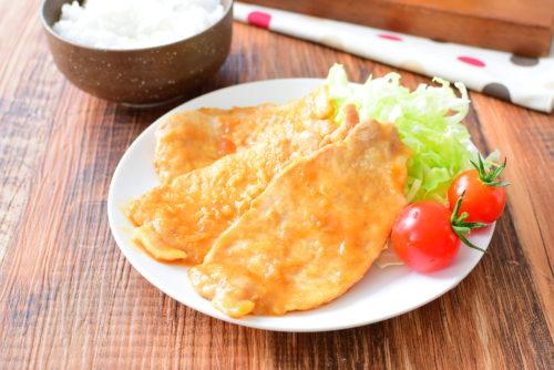 タレに漬けなくても美味しい!豚の生姜焼きのレシピの写真