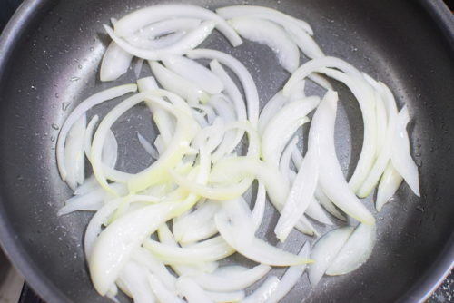 すりおろし玉ねぎに漬ける!豚の生姜焼きのレシピの写真
