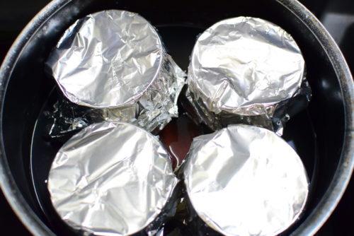 オーブンと蒸し器は使わない!練乳カスタードプリンのレシピの写真