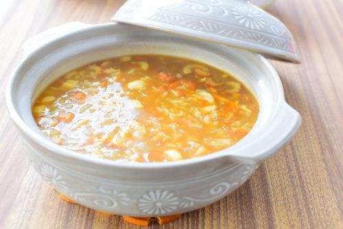 体ぽかぽか!ちくわカレー雑炊のレシピ
