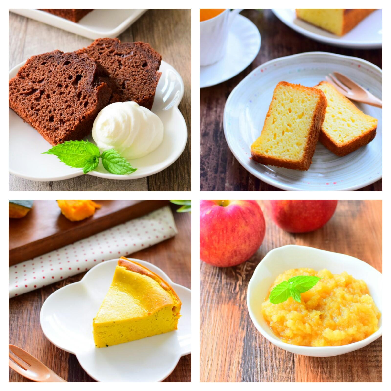 バターを使わないヘルシーな焼き菓子5選