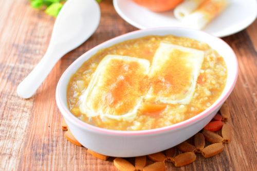 チーズ焼きカレー雑炊のレシピの写真