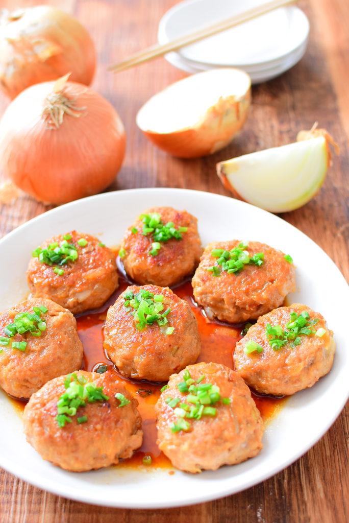 たれと良く合う!マヨネーズ入り豚つくねのレシピ