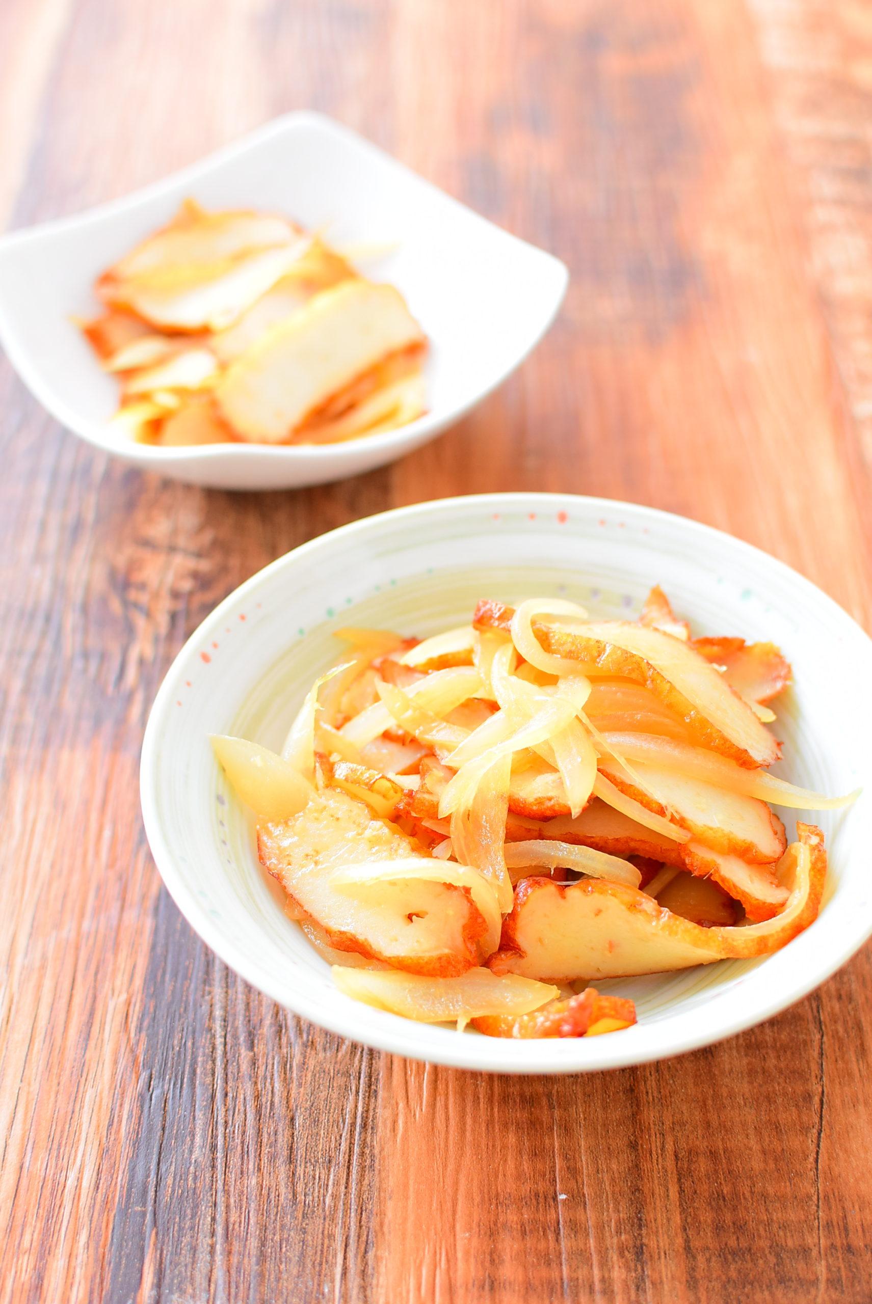 さつま揚げの生姜焼きのレシピ