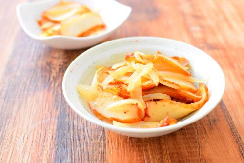 さつま揚げの生姜焼きのレシピの写真