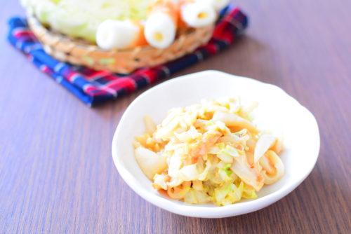 ちくわと千切りキャベツのオイマヨ炒めのレシピの写真