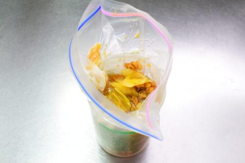 キャベツカレーのレシピ&カレーの冷凍保存と解凍方法の写真