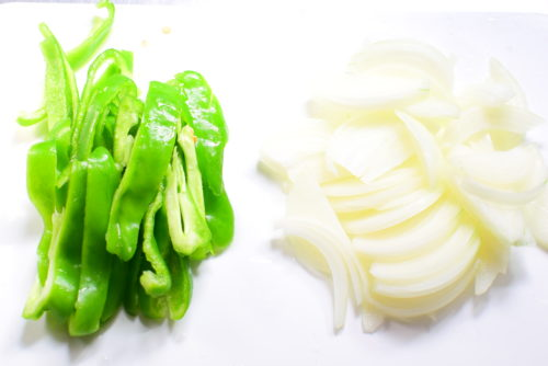 豆腐のオイスターソースりんご炒めのレシピの写真
