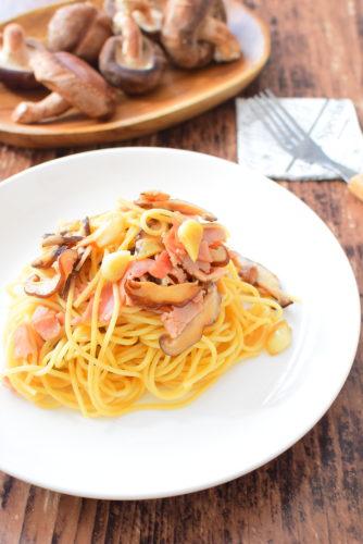 材料少ない!簡単オイマヨスパゲッティのレシピの写真
