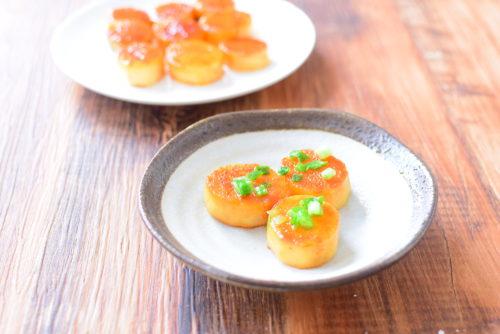 長芋のバター醤油ステーキのレシピの写真