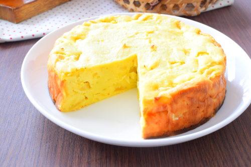 ボリューミー!りんご入り!さつまいもしっとりケーキのレシピの写真