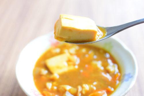 ルーで簡単!豆腐カレースープのレシピ