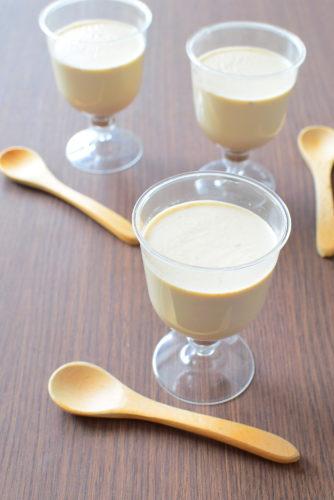 卵と白砂糖不使用!白ねりごまプリンのレシピの写真
