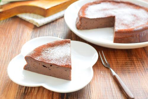 豆腐でしっとり!チョコレートケーキのレシピの写真