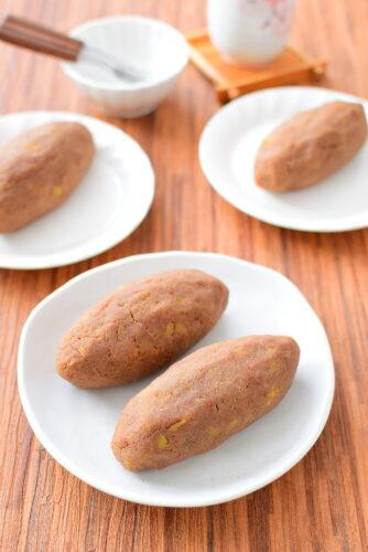 見た目さつまいも!?しっとり美味しい!あんバタースイートポテトのレシピの写真