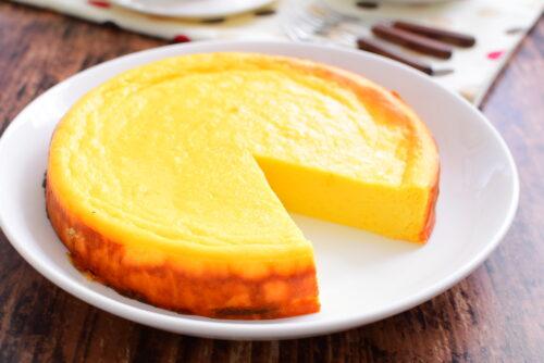 ヨーグルト入りさつまいもケーキのレシピの写真