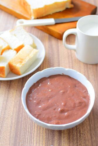アイスや食パンに!ミルクココアクリームのレシピ写真
