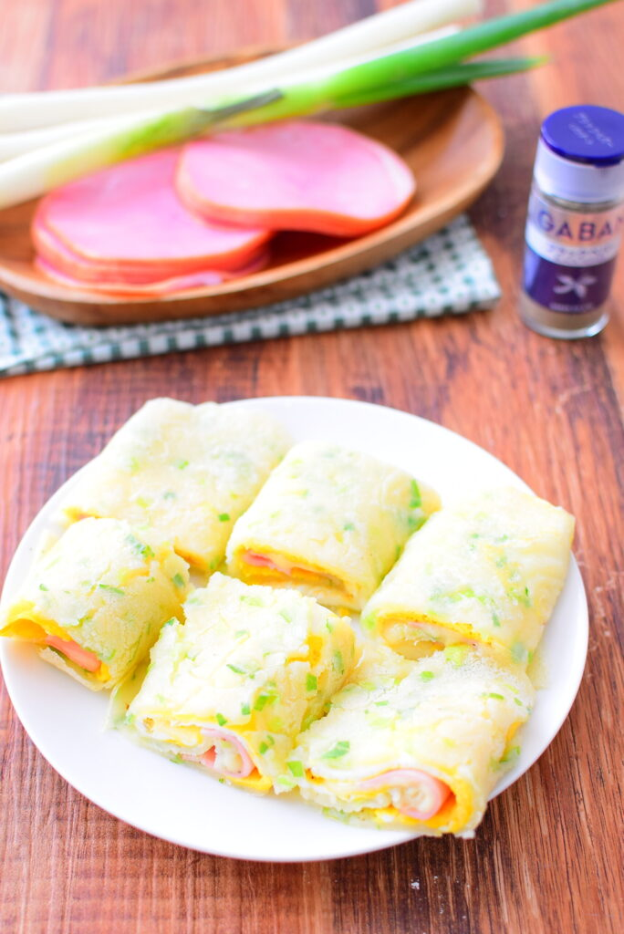 ブラックペッパーでアレンジ!台湾の朝食。蛋餅(ダンビン)のレシピの写真