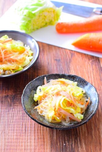 さっぱりした味わい!春雨サラダのレシピの写真