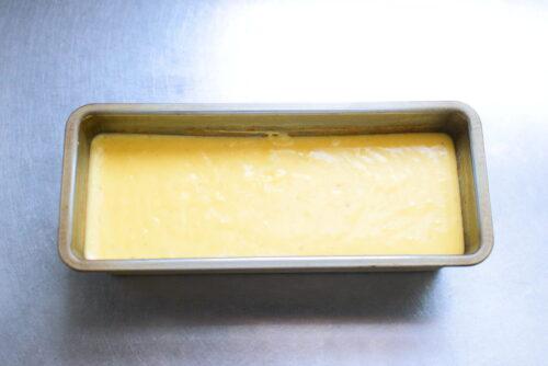 ホットケーキミックスで作るバナナケーキのレシピの写真