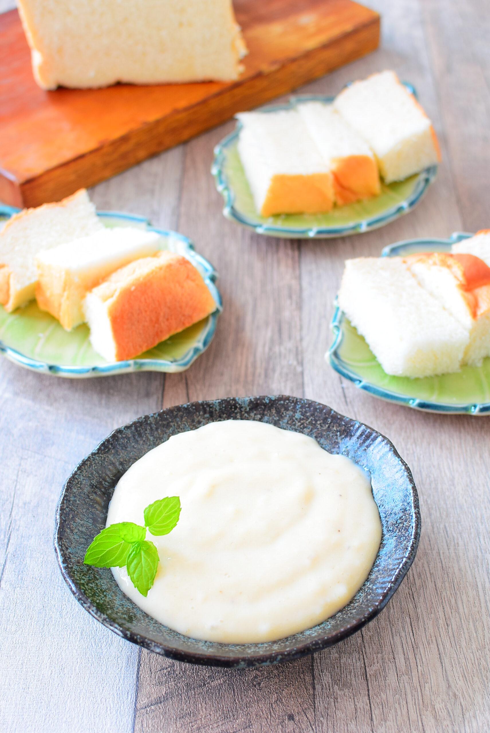 【食パンやアイスに】バナナミルククリームのレシピの写真