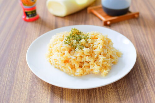 おろしにんにくで作るマヨネーズガーリックライスのレシピ